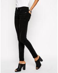 Cheap Monday Drift Black Tight Jeans - Lyst