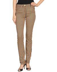 Versace Casual Pants brown - Lyst