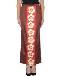 Miu Miu Long Skirt - Lyst