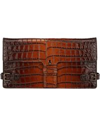 Tomas Maier - Croc-embossed Clutch - Lyst