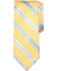 Brooks Brothers Rope Split Stripe Tie - Lyst