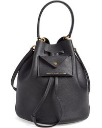Marc By Marc Jacobs Metropoli Leather Bucket Bag - Lyst