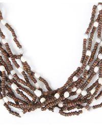 Eskandar - Multi-strand Coconut Bead Necklace - Lyst