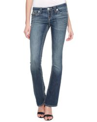 True Religion Hand Picked Bootcut Big T Womens Jeans - Lyst