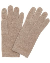 Portolano   Nile Brown Cashmere Itouch Gloves   Lyst