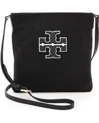 Tory Burch Varsity Swingpack Bookbag - Black - Lyst