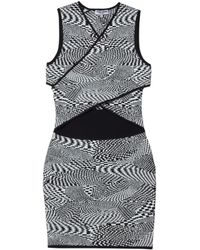 Opening Ceremony Techno Jacquard Dress - Lyst