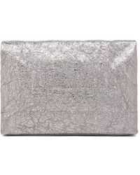 Marie Turnor Silver Lunch Clutch - Lyst