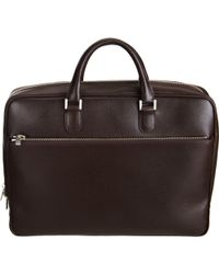 Valextra - Zip Around Briefcase - Lyst