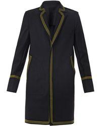 Jonathan Saunders Rawedge Wool Coat - Lyst