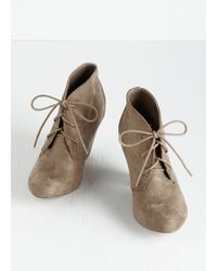 Fortune Dynamic - Have I Got Shoes For You! Bootie In Sand - Lyst