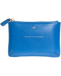 Anya Hindmarch Loose Pocket Small Happy Birthday - Lyst