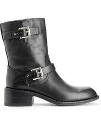 Rag & Bone Black Andover Boot - Lyst