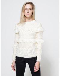 Need Supply Co. - Arcadia Fringe Sweater - Lyst