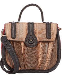 Zagliani - Aidha Small Shoulder Bag-black - Lyst