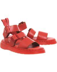 Dr. Martens Shore Reinvented Gryphon Strap Sandal - Lyst