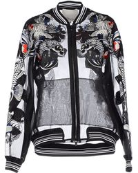 3.1 Phillip Lim | Tattoo Embroidered Organza Jacket | Lyst