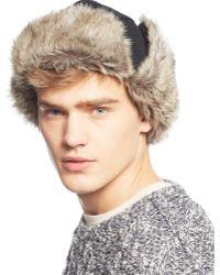 Levi's Faux-fur Trapper Hat - Lyst