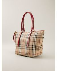 Burberry - 'Bridle' Small Tote - Lyst