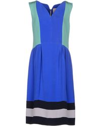 Roksanda Knee-Length Dress blue - Lyst