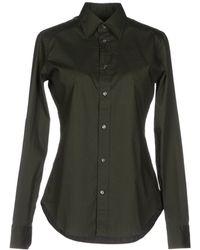 Ralph Lauren Green Shirt - Lyst