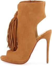 Christian Louboutin Boots | Ankle Boots, Leather Boots, Winter ...