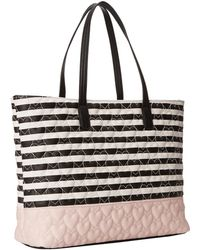 Betsey Johnson Be My Bow Tote - Lyst