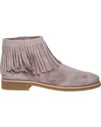 Kate Spade | Betsie Fringed Suede Boots | Lyst