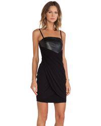 Bailey 44 Black Gliding Dress - Lyst