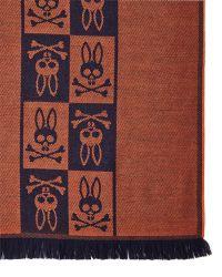 Psycho Bunny - Graphic Print Scarf - Lyst