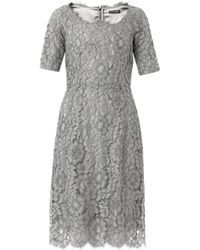 Dolce & Gabbana Macramé Lace Dress - Lyst