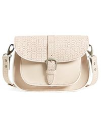 Maison Scotch Perforated Shoulder Bag - Lyst
