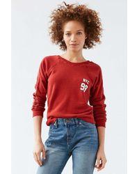 Truly Madly Deeply - Nyc Varsity Sweatshirt - Lyst