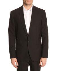 Filippa K Christian Black Tuxedo Jacket - Lyst