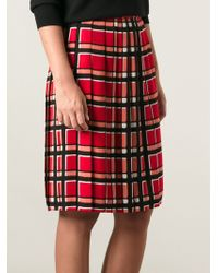 Marc By Marc Jacobs Toto Printed Skirt - Lyst