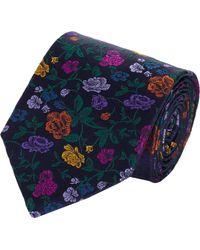 Duchamp Rose Garden Silk Jacquard Neck Tie - Lyst