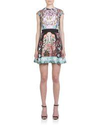Mary Katrantzou Sirene Printed Ponte Dress - Lyst