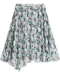 Prabal Gurung Printed Silk Skirt - Lyst
