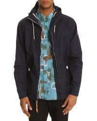 Penfield Gibson Navy Blue Jacket - Lyst