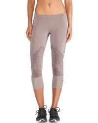 Adidas By Stella Mccartney Essentials 34 Starter Tights - Lyst