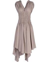 Alaïa Knee-length Dress - Lyst