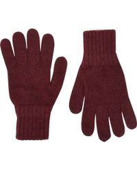 Drake's - Contrast-cuff Gloves - Lyst