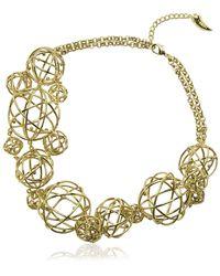 Eshvi - Astro 20 Gold Necklace - Lyst