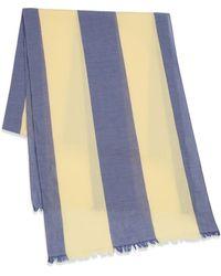 Gant Rugger - Awning Stripe Cotton Scarf - Lyst