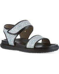 Marni East Lake Sandals Silver - Lyst