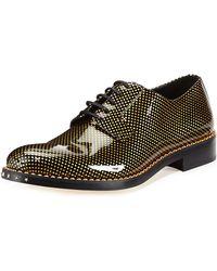 Jimmy Choo Alaric Mens Polkadot Patent Oxford Shoe - Lyst