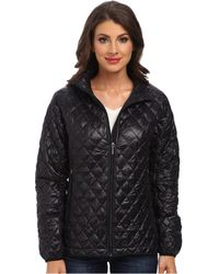 Rainforest Zip Front Thermoluxe Quilt Jacket - Lyst