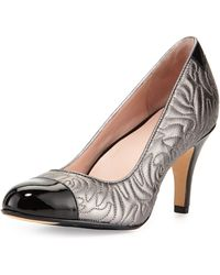 Taryn Rose Thompson Quilted Pump - Lyst