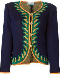 Yves Saint Laurent Vintage Cardigan Jacket - Lyst