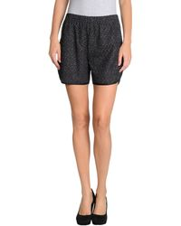 Missoni Black Shorts - Lyst